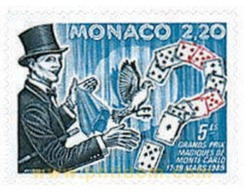 Ref. 78887 * MNH * - MONACO. 1989. 5th MONTECARLO MAGIC STARS . 5 GRAN PREMIO DE MAGIA EN MONTECARLO - Unclassified