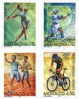 Ref. 67810 * MNH * - MONACO. 1996. GAMES OF THE XXVI OLYMPIAD. ATLANTA 1996. CENTENARY OF THE OLYMPIC GAMES . 26 JUEGOS - Summer 1896: Athens