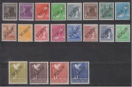 BERLIN 1948 - Michel Nr. 1-20 Postfrisch MNH** Geprüft Schlegel BPP - Ungebraucht