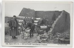 AK 0285  Guerre 1914-15 - Sur Le Front / Ravitaillement D' Essence - Weltkrieg 1914-18