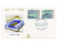 Ref. 24129 * MNH * - MONACO. 1987. EUROPA CEPT. MODERN ARCHITECTURE  . EUROPA CEPT. ARQUITECTURA MODERNA - Sin Clasificación