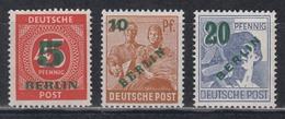 BERLIN 1949 - Michel Nr. 64-66 Postfrisch MNH** Geprüft Schlegel BPP - [5] Berlino