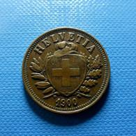 Switzerland 2 Rappen 1900 - Schweiz