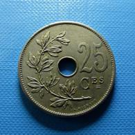 Belgium 25 Centimes 1909 - 1909-1934: Alberto I