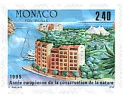 Ref. 32959 * MNH * - MONACO. 1995. EUROPEAN YEAR FOR THE PROTECTION OF NATURE . AÑO EUROPEO PARA LA PROTECCION DE LA  N - Umweltschutz Und Klima