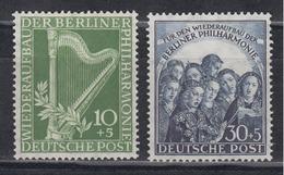 BERLIN 1950 - Michel Nr. 72-73 Postfrisch MNH** - Ungebraucht
