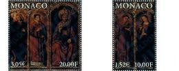 Ref. 139123 * MNH * - MONACO. 2000. RETABLE OF ST. NICHOLAS, L. BREA . RETABLO DE SAN NICOLAS, L. BREA - Mónaco