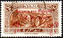 Syrie Obl. N° 176 Site - Secours Aux Réfugiés- Pont De Daphné 1 Sur 5pi - Syrie (1919-1945)