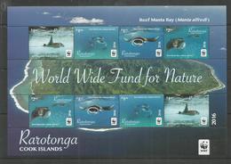 RAROTONGA - MNH - Animals - Fishes - WWF - 2016 - Pesci