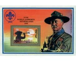 Ref. 257262 * MNH * - MONGOLIA. 1992. 17th JAMBOREE IN SOUTH KOREA. 18th JAMBOREE IN HOLLAND . 17 JAMBOREE EN COREA DEL - Mongolia