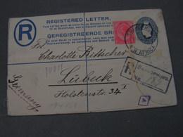 SA Swakopmund Nach Lübeck 1921 - Südafrika (...-1961)