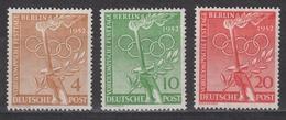 BERLIN 1952 - Michel Nr. 88-90 Postfrisch MNH** - Ungebraucht
