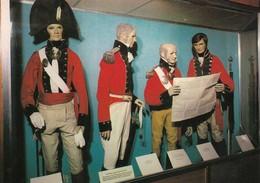 Postcard Green Howards Richmond Officers Uniforms Local Militia 1808 - 1816 My Ref  B23694 - Uniforms