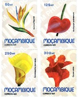 Ref. 96435 * MNH * - MOZAMBIQUE. 1991. FLOWERS OF MOZAMBIQUE . FLORES DE MOZAMBIQUE - Mozambique