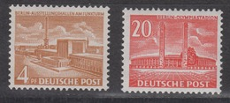 BERLIN 1953 - Michel Nr. 112-113 Postfrisch MNH** - Ungebraucht