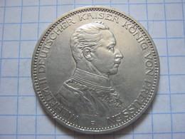 Prussia 3 Mark 1914 - 2, 3 & 5 Mark Silver