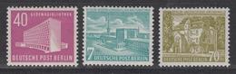 BERLIN 1954 - Michel Nr. 121-123 Postfrisch MNH** - Ungebraucht