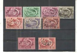 Ungheria PO 1950 Lavori Miniera  .Scott.872+877+See Scan On Album Page; - Ungheria