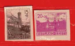(Us3) ESTONIA-ESTLAND-EESTI **- 1941 GERMANIA OCCUPAZIONI.  NUOVI - Estonia