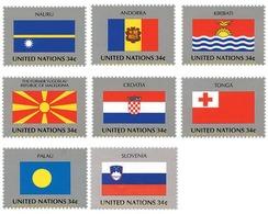 Ref. 87465 * MNH * - UNITED NATIONS. New York. 2001. FLAGS OF UN MEMBER COUNTRIES . BANDERAS DE LOS ESTADOS MIEMBRO DE L - Sin Clasificación