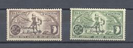 PR 81/82 HOMMAGE A ROOSEVELT POSTFRIS** 1947 - Commemorative Labels