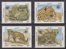 Afghanistan - 1985 WWF Leopard ** - Big Cats (cats Of Prey)