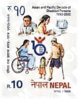 Ref. 68998 * MNH * - NEPAL. 1998. LEGENDARY PEOPLE . PERSONAJES DE LEYENDA - Nepal