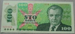 Czechoslovakia 100 Korun 1989. Excellent Condition. C1 - Tsjechoslowakije