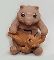 K370 / Kinder Série Animaux Et Petits / Ref: EN174 Wombat - Montables