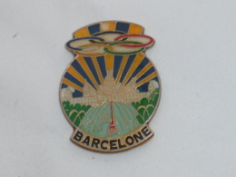 Pin's BARCELONE OLYMPIQUE - Jeux Olympiques