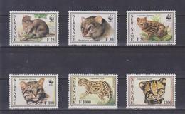 Surinam - 1995 Wildkatzen WWF ** - Big Cats (cats Of Prey)