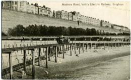 REGNO UNITO  SUSSEX  BRIGHTON  Madeira Road  Volk's Electric Railway - Brighton