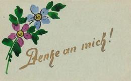 AK Denke An Mich! - Blumen - Orig. Aquarell - 1941  (42610) - Blumen