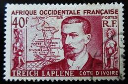 Afrique Occidentale AOF 1952 - YT 47 , 62 - Treich Laplene  & Café  Oblitérés - A.O.F. (1934-1959)