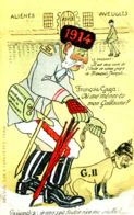 N°74952 -cpa Illustrateur Humoristique -François Gaga-  RR- - War 1914-18