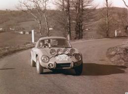Matra Djet V  -  Rallye Monte-Carlo 1968  -  Pilotes: Richard Cavassuto/Yves Le Gravererd  -  PHOTO (15x10cms) - Rallyes