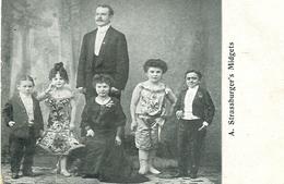 A. Strassburger's Midgets - Cirque