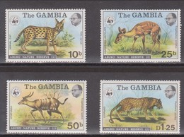 Gambia - 1976 WWF Abuko Naturschutzgebiet Wildtiere ** - Stamps