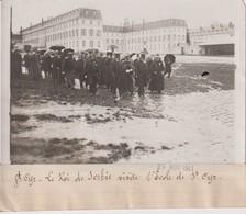 SAINT CYR LE ROI DE SERBIE VISITE L'ÉCOLE A ST CYR   18*13CM Maurice-Louis BRANGER PARÍS (1874-1950) - Lugares