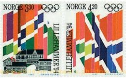 Ref. 71489 * MNH * - NORWAY. 1992. XVII OLYMPIC WINTER GAMES. LILLEHAMMER 1994 . 17 JUEGOS OLIMPICOS INVIERNO LILLEHAMME - Winter 1994: Lillehammer