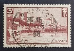 1938 - 1939 N° 391, Avignon, New Daily Stamps, France, Republique Française, Oblitéré - Oblitérés
