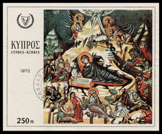 CYPRUS 1972 - Miniature Sheet Used - Cyprus (Republic)