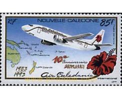 Ref. 94964 * MNH * - NEW CALEDONIA. 1993. 10 ANIVERSARIO DE LA CREACION DE AIRCALIN - New Caledonia