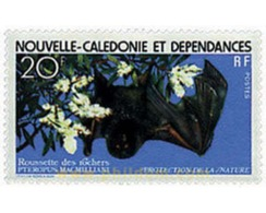 Ref. 44477 * MNH * - NEW CALEDONIA. 1978. NATURE PROTECTION . PROTECCION DE LA NATURALEZA - Nuevos