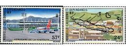 Ref. 45410 * MNH * - NEW CALEDONIA. 1977. AIRPORTS . AEROPUERTOS - Nieuw-Caledonië