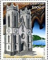 Ref. 255042 * MNH * - NEW CALEDONIA. 2010. 120º ANIVERSARIO DE LA CATEDRAL DE NOUMÉA - Nuevos