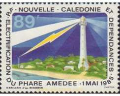 Ref. 589110 * MNH * - NEW CALEDONIA. 1985. ELCTRIFICACION DEL FARO AMEDEE - Neukaledonien