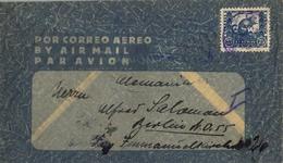 BOLIVIA , SOBRE CIRCULADO POR CORREO AÉREO , LA PAZ - BERLIN , YV. 233 , FAUNA - CHINCHILLA - Bolivia