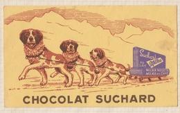 9/20  BUVARD CHOCOLAT SUCHARD CHIENS - Chocolat
