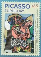 Uruguay 2019 ** SELLO.  Homenaje A Picasso - Picasso